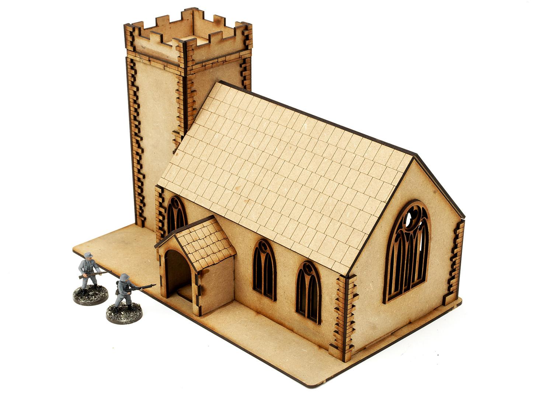 Church - 28mm Terrain