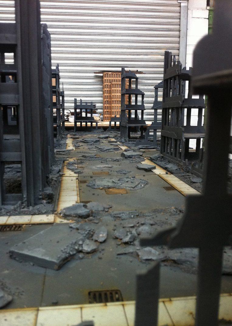 Premier City Ruins 6 Tall Ruins Set 28mm Terrain